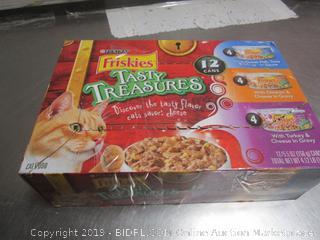 Friskies Tasty Treasures Case Cat Food