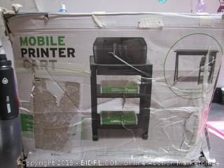 Mobile Printer Cart