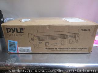 Pyle Wireless BT Professional Power Amplifier