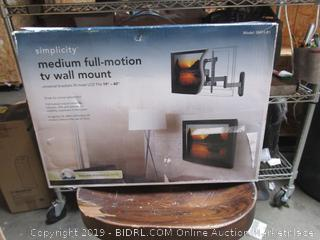 Simplicity Full Motion TV Wall Mount