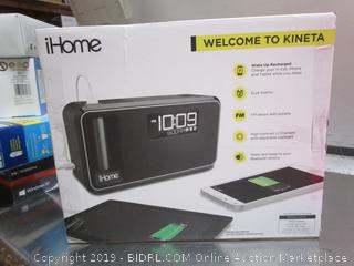 iHome Kineta K-Cell Alarm Clock