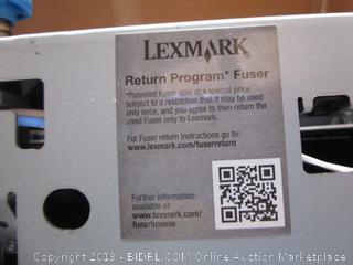 Lexmark Return Program Fuser