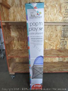 Summer Pop 'N Play Cube Playard