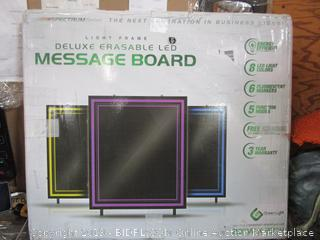 Erasable Message Board W/ LED