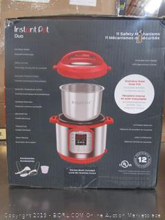 Instant Pot Duo 6qt Red