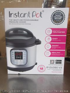Instant Pot iP-Duo Black Pressure Cooker