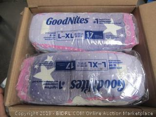 GoodNites Nighttime Underwear for Adults