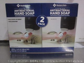 Member's Mark Commercial Foaming Anti-Bacterial Hand Soap Refills