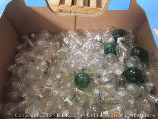 Big Box Lot of Light Bulbs (sign lamps; for light strands)