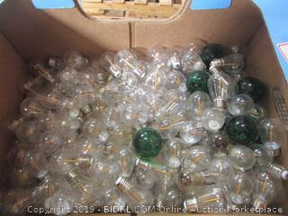 Big Box Lot of Light Bulbs (sign lamps; for light strands)