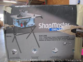 Portable Table Saw w/ Stand