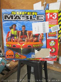 Super Mable Lake Inflatable Towable (retail $299)