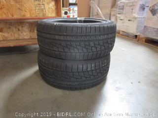 Lot of 2 Tires