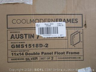 Double Panel Float Frame