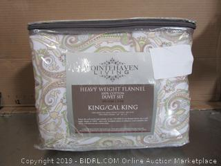 Pointehaven Living King Size Duvet Set