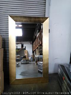 Buckingham Chaney Accent Mirror Brushed Gold (in Lobby for viewing)