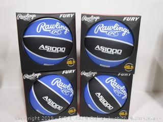 Rawlings Blue & Black Basketball
