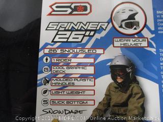 """Snow Daze 26"""" Spinner Lot of 6"""