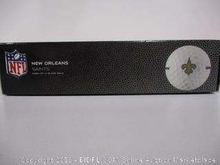 New Orleans Saints Golf Balls
