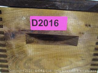 American Wildlife Hinged Lid Wooden Box Ducks