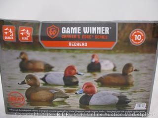 Game Winner Carver's Edge Series Redhead Ducks