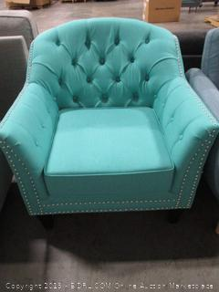 Christopher Knight Home Ladera Teal Fabric Club Chair