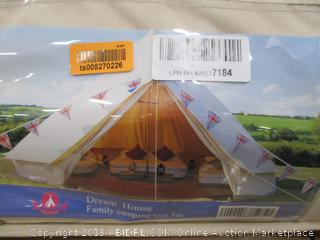 Dream House Family Camping Tent