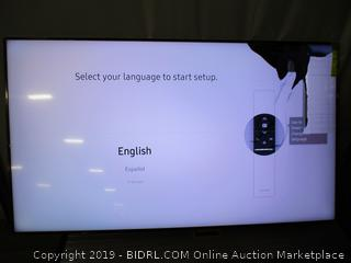 Samsung QN65Q60RAFXZA Flat 65'' QLED 4K Q60 Series (Screen Broken)