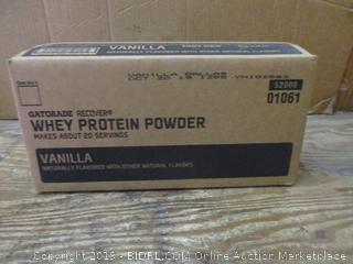 Gatorade recover Whey Protein Powder