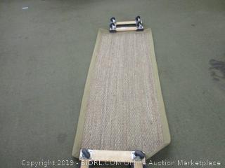 "nuLOOM Elijah Seagrass Natural Runner Rug, 2' 6"" x 6', (Retail $50)"
