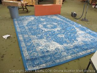 "nuLOOM RZBD07C Verona Vintage Persian Area Rug, 9' 10"" x 14', Dark Blue (Retail $425)"