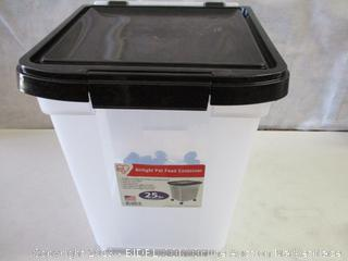 Rolling Pet Food Container