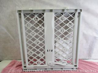 North States Mypet Paws Portable Pet Gate: Expands & Locks In Place