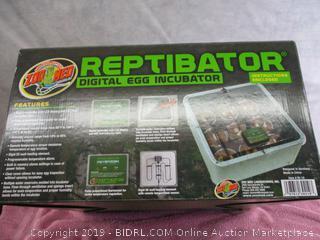 Zoo Med Reptibator Egg Incubator (Retail $160)