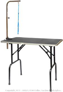 Go Pet Club GT-103 42 in. Pet Dog Grooming Table with Arm(Factory Sealed) COME PREVIEW!!!!