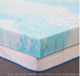 Milemont Mattress Topper King, Memory Foam Mattress Topper for King Size Bed, 3 Inch