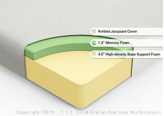Zinus Ultima Comfort Memory Foam 6 Inch Mattress - Full