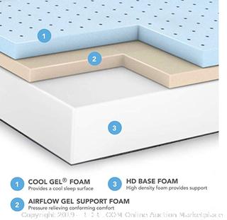 Cool Gel 10.5 inch mattress - Twin