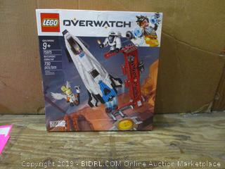 Lego Overwatch box damage