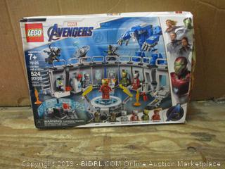 Lego Avengers box damage