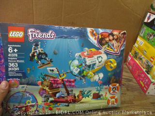 Lego Friends box damage