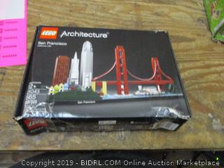 Lego Architecture box damage