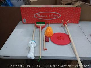 Melissa & Doug cleaning set for kids