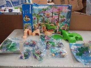 PLAYMOBIL® Magical Fairy Forest Playset Multicolor (SEE NOTE