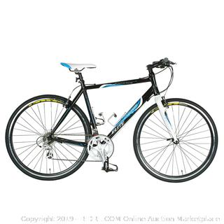 Tour de France pack leader Elite Road Bike Black and White (online $397)