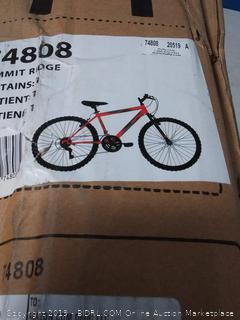 Huffy Bicycle Company Huffy Hardtail Mountain Bike, Summit Ridge 24-26 inch 21-Speed, Lightweight (online $157)