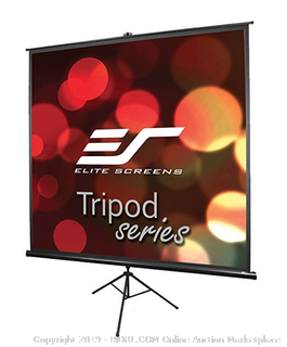 Elite screens t71UWS1 projector screen (dent on top of frame)