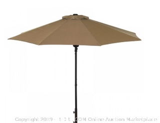 Cabo 9 in Auto open umbrella Stone - olefin stone
