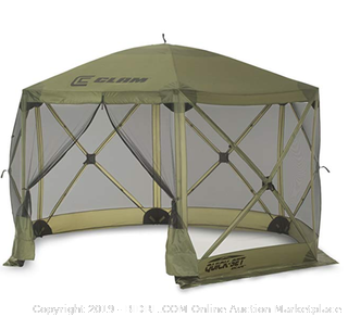quick set Escape screen shelter green (Online $230)