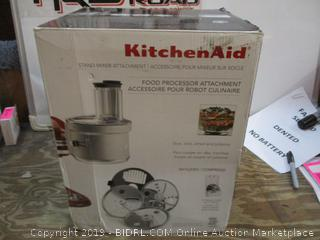 Kitchen Aid Food Processor Attachment/Stand Mixer Attachements See Pictures